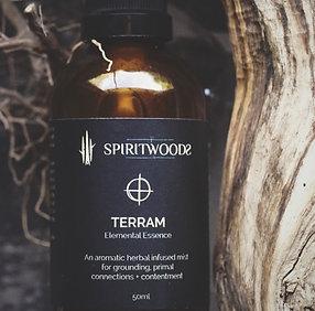 Terram . Elemental Essence | grounding. primal connections. contentment