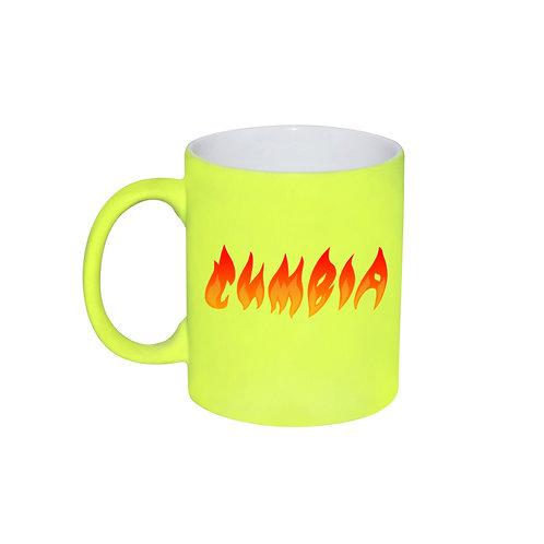 Taza Neon | Amarilla | Fuego