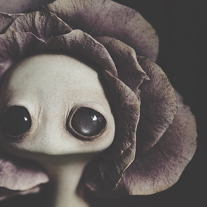 "Giclee Print 'Flower Child' 8"" x 8"""