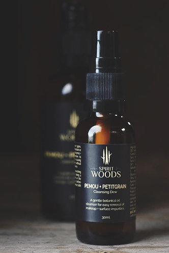CLEANSE. Pemou + Petitgrain Cleansing Dew