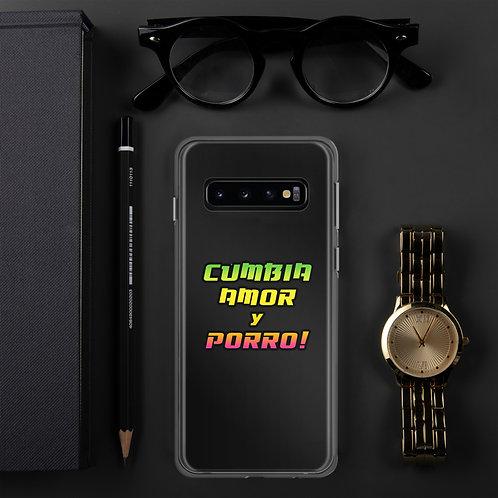 Carcasa para Samsung Cumbia, Amor y Porro