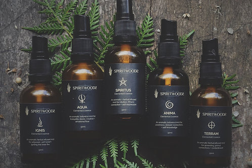 Elemental Essences Set | Aromatherapy Chakra Body Mists 50ml