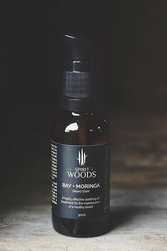 CONDITION . Bay + Moringa Beard Elixir
