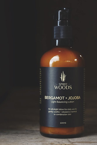 Bergamot + Jojoba Light Balancing Lotion 100ml