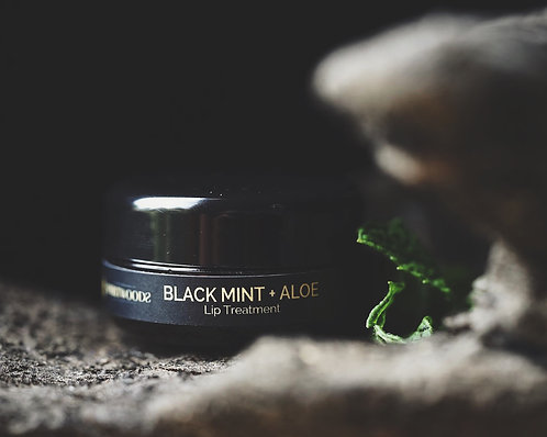 Black Mint + Aloe Lip Treatment