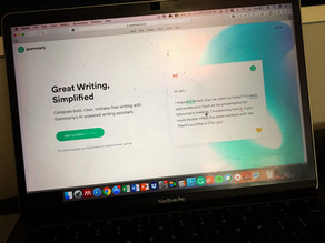 Three (3) reasons why you should use Grammarly