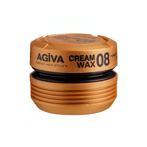 AGIVA CREAM WAX 08 POMADE / SHINE FINISH MEDIUM CONTROL 175 ML