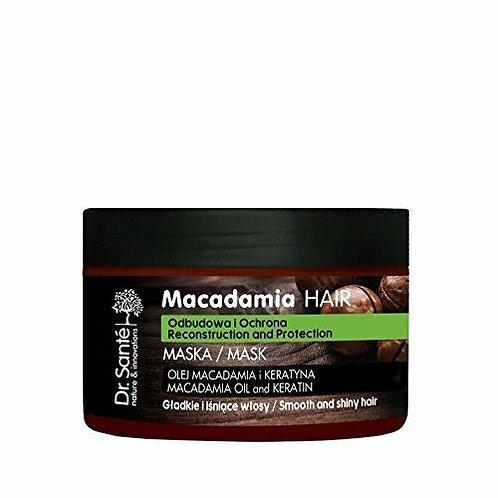 Dr. Sante Macadamia Hair - Máscara para cabello débil, con queratina, 300 ml