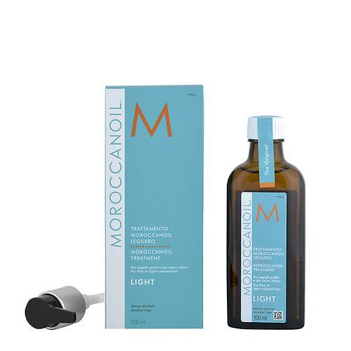 MOROCCANOIL OIL TREATMENT LIGHT 100ML - ACEITE LIGERO PARA CABELLO FINO Y CLARO