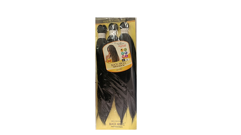 "KUKNUS BLACK ANGEL PRE STRETCHED TRIPLE PACK 3X 20""COLOR 1"