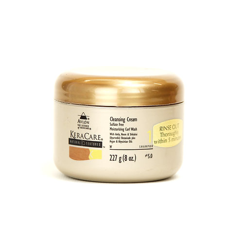 KERACARE NATURAL TEXTURES CLEANSING CREAM 227G