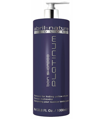 ABRIL ET NATURE BAIN SHAMPOO PLATINUM 1000 ML.
