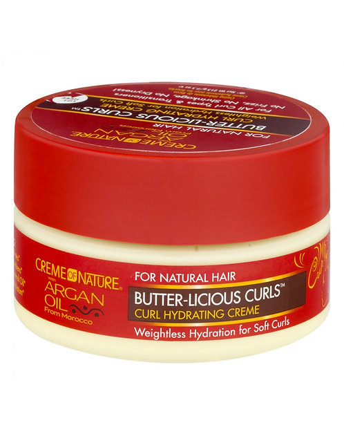 Creme Of Nature Argan Oil Butter Licious Curls 212 Gr