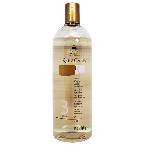 Avlon Keracare Foam Wrap Set Lotion Extra 1L