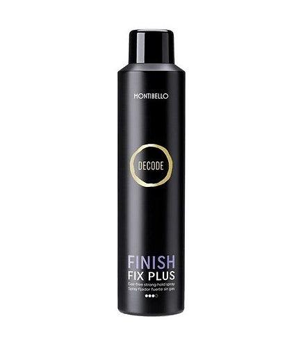 Montibel·lo Decode Finish Fix Plus Spray Fijador Fuerte Sin Gas 250 ml