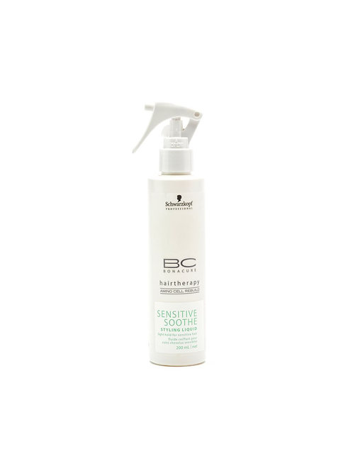 SCHWARZKOPF BONACURE SENSITIVE SOOTHE STYLING LIQUID - 200 ML
