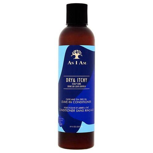 As I Am Dry and Itchy Scalp Care Olive and Tea Tree Oil Leave in Conditioner