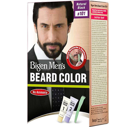 Bigen Men's BEARD COLOR 101