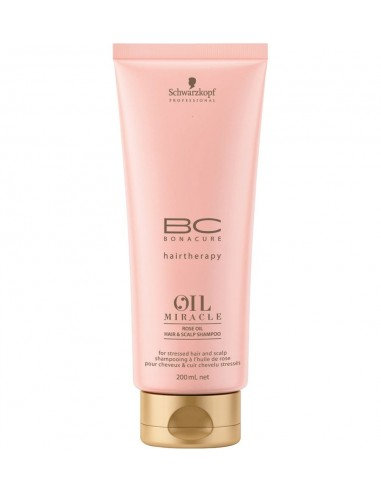 Schwarzkopf  BC Oil miracle Rose Oil Champú - 200 ml
