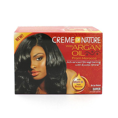 Creme Of Nature Argan Oil Relaxer Kit Super