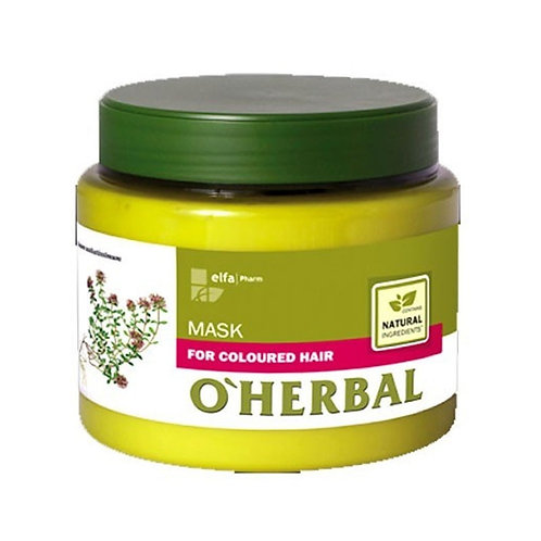 O'Herbal - Mascarilla Pelo, Cabello Teñido Profesional Hidratante Natural Eco