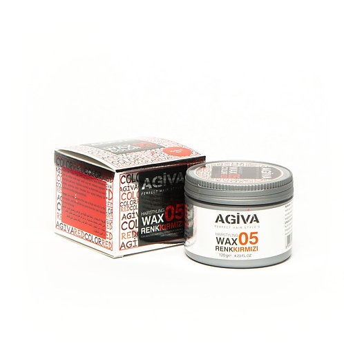 AGIVA HAIR PIGMENT WAX 05 COLOR RED 120 GR