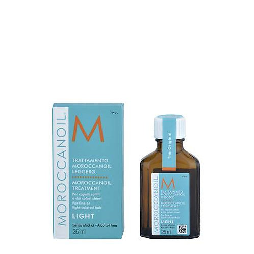 MOROCCANOIL OIL TREATMENT LIGHT 25ML - ACEITE LIGERO PARA CABELLO FINO Y CLARO
