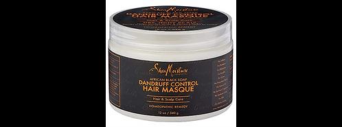 Shea Moisture African Black Soap Dandruff Control Hair Masque 12 oz by Shea Mois