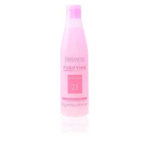 Salerm Cosmetics Purifying Shampoo Champú - 250 ml