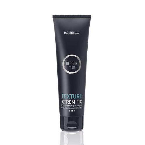 Montibel·lo Decode Texture Men Xtrem Fix Gel Fijación Extrafuerte 150 ml