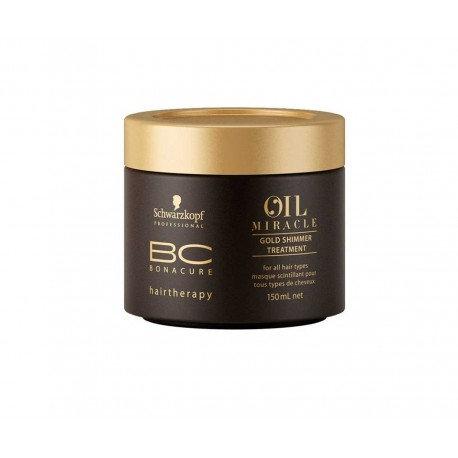 Schwarzkopf BC OIL MIRACLE Tratamiento de Brillo Dorado - 150 ml
