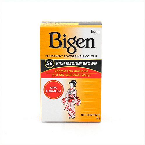 Bigen PERMANENT POWDER HAIR COLOUR 56 Rich Medium Brown