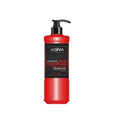 AGIVA AFTER SHAVE CREAM FRESH COLOGNE 400ML