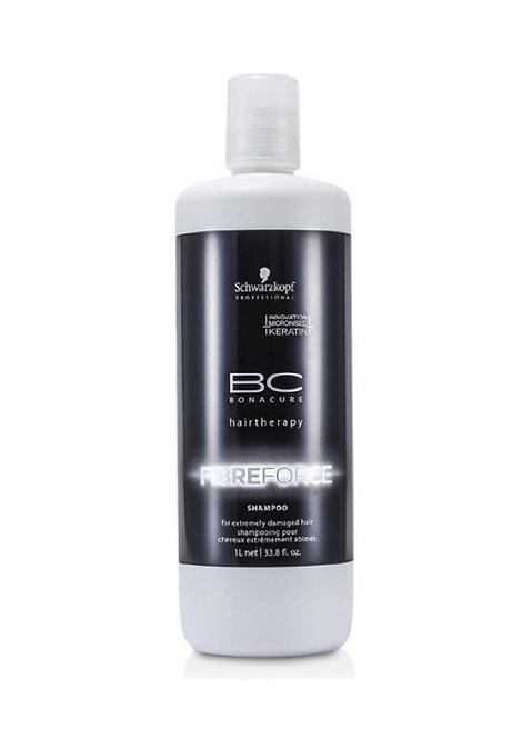 Shampoo Fibre Force X 1000 Ml Bonacure - Schwarzkopf