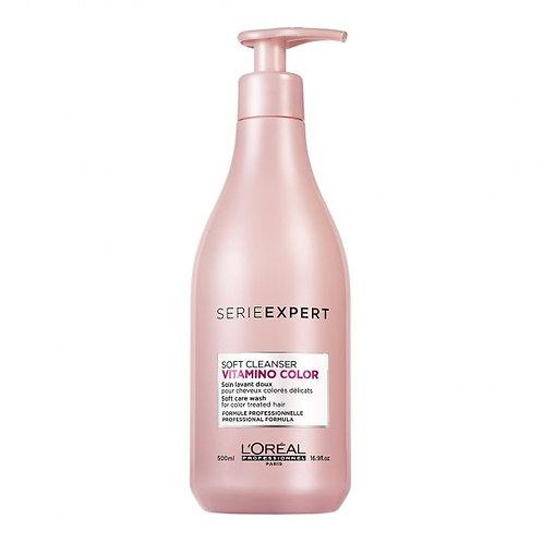 L'Oréal VITAMINO COLOR A-OX Champú Vitamino Color Soft Cleanser - 500 ml