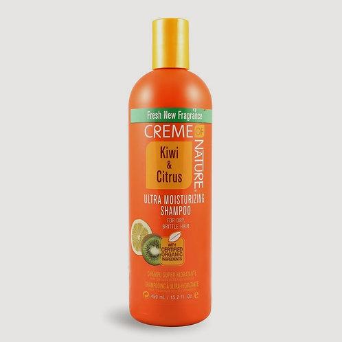 Creme Of Nature Kiwi & Citrus Profesional Champú Ultra Hidratante 450 Ml