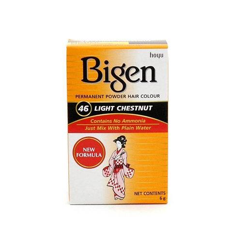 Bigen PERMANENT POWDER HAIR COLOUR 46 Light Chestnut