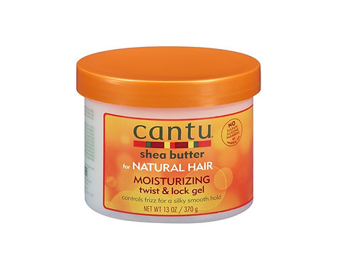 Cantu Shea Butter Natural Hair Hidratante Twist & Lock Gel 370 Gr