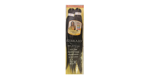 "KUKNUS EZBRAID PRE STRETCHED DOUBLE 2X 26""COLOR 4"
