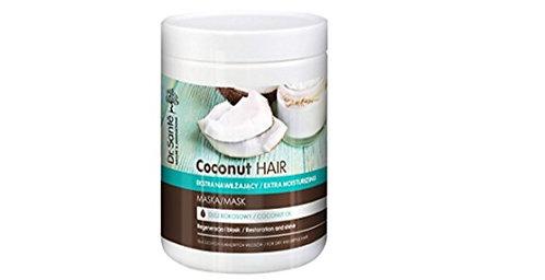 Dr Sante Coconut Oil Extra - Mascarilla hidratante para cabello seco y quebradiz