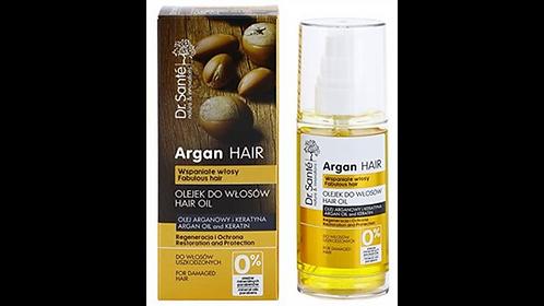 Dr. Sante Aceite para el cabello con argón y Queratina para cabello dañado