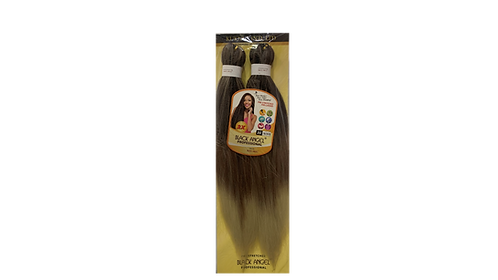 """KUKNUS BLACK ANGEL PRE STRETCHED DOUBLE 2X 20""""COLOR T1B/30/613"""