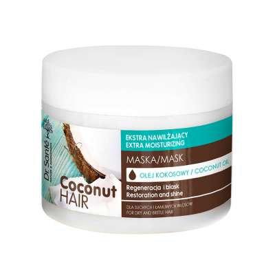 Dr. Sante Máscara hidratante extra con aceite de coco para cabello seco y quebra