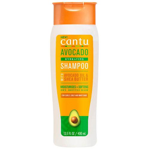 Cantu Avocado Hydrating Champú 13,5Oz/400 ml
