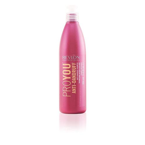Revlon PROYOU ANTI-DANDRUFF micronized zinc pyrithione shampoo 350ml
