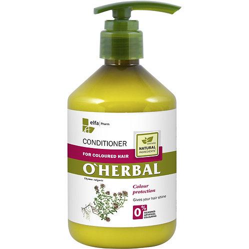 Elfa Pharm o'herbal acondicionador para el pelo coloreado tomillo 500 ml