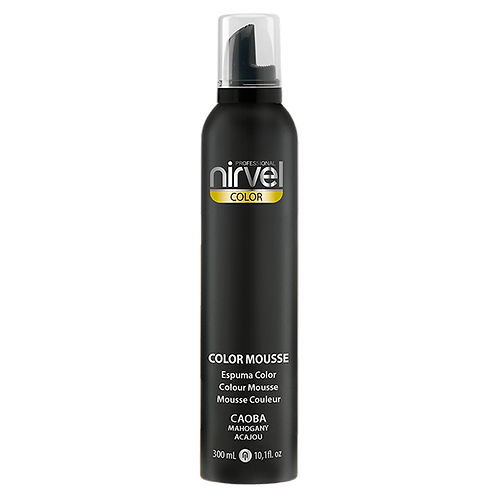 NIRVEL COLOR MOUSSE CAOBA 300ML