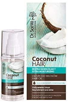 Dr. Sante Aceite de coco extra hidratante para cabello seco y quebradizo, 100 g