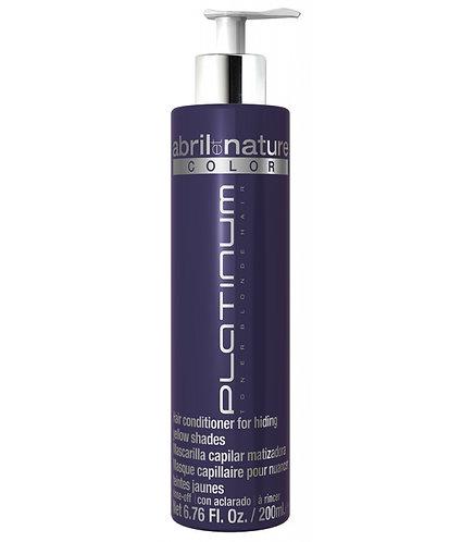 ABRIL ET NATURE PLATINUM TONER BLONDE HAIR 200 ML.