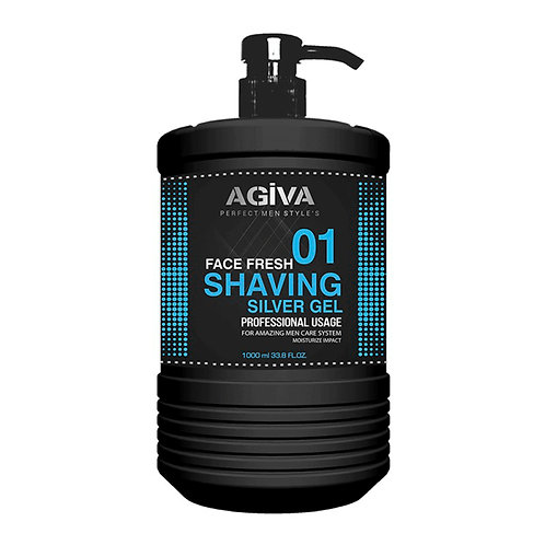 AGIVA SHAVING GEL COOL 1000ML